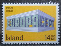 Poštovní známka Island 1969 Evropa CEPT Mi# 429