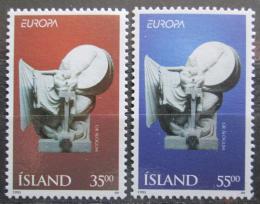Poštovní známky Island 1995 Evropa CEPT Mi# 826-27