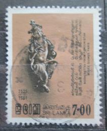 Poštovní známka Srí Lanka 1981 Bodhisattwa Mi# 550