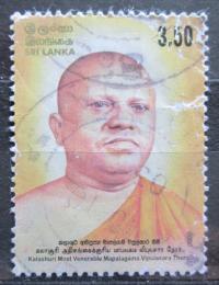 Poštovní známka Srí Lanka 2004 Vipulasara Thero, budhistický mnich Mi# 1455