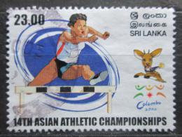 Poštovní známka Srí Lanka 2002 Atletika, pøekážkový bìh Mi# 1350
