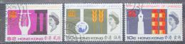 Poštovní známky Hongkong 1966 UNESCO, 20. výroèí TOP SET Mi# 224-26 Kat 50€