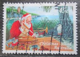 Poštovní známka Vánoèní ostrov 1997 Vánoce Mi# 433