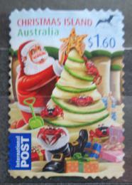 Poštovní známka Vánoèní ostrov 2012 Vánoce Mi# 731 Kat 3.20€