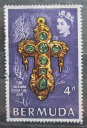 Poštovní známka Bermudy 1969 Zlatý køíž Mi# 223