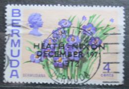Poštovní známka Bermudy 1971 Badil pøetisk Mi# 277