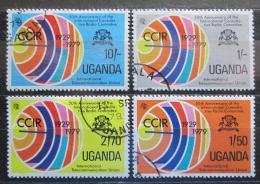 Poštovní známky Uganda 1979 CCIR, 50. výroèí Mi# 250-53