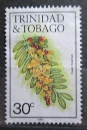 Poštovní známka Trinidad a Tobago 1989 Cassia moschata Mi# 484 VII