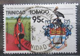 Poštovní známka Trinidad a Tobago 1986 Znak Západoindické univerzity Mi# 542