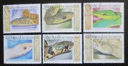 Poštovní známky Benin 2001 Hadi Mi# 1177-82