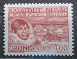 Poštovní známka Grónsko 1977 Jorgen Bronlund Mi# 104