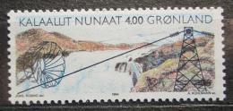 Poštovní známka Grónsko 1994 Vodní elektrárna Mi# 246