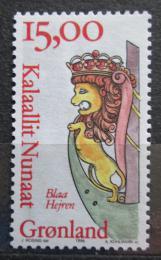 Poštovní známka Grónsko 1996 Blaa Heiren Mi# 294 Kat 4.50€