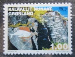 Poštovní známka Grónsko 2002 Umìní, Aka Høegh Mi# 376