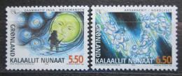 Poštovní známky Grónsko 2004 Nordické mýty Mi# 414-15
