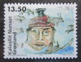 Poštovní známka Grónsko 2006 Nordické mýty Mi# 463