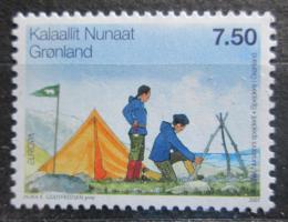 Poštovní známka Grónsko 2007 Evropa CEPT, skauti Mi# 481