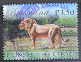 Poštovní známka Botswana 2014 Lev pustinný Mi# 988