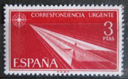 Poštovní známka Španìlsko 1965 Šipka z papíru Mi# 1553