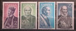 Poštovní známky Španìlsko 1966 Osobnosti Mi# 1593-96