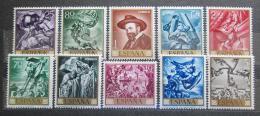 Poštovní známky Španìlsko 1966 Umìní, José María Sert Mi# 1599-1608