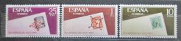 Poštovní známky Španìlsko 1966 Svìtový den známek Mi# 1613-15