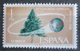 Poštovní známka Španìlsko 1966 Kongres lesního hospodáøství Mi# 1622