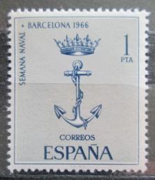 Poštovní známka Španìlsko 1966 Kotva Mi# 1624