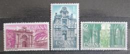 Poštovní známky Španìlsko 1966 Kláštery a opatství Mi# 1656-58