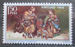 Poštovní známka Španìlsko 1966 Vánoce, umìní, Duque Cornejo Mi# 1659