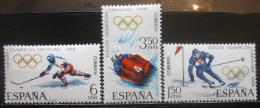 Poštovní známky Španìlsko 1968 ZOH Grenoble Mi# 1735-37