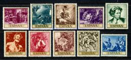Poštovní známky Španìlsko 1968 Umìní, Mariano Fortuny Mi# 1740-49