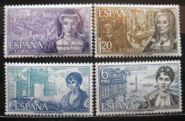 Poštovní známky Španìlsko 1968 Slavné ženy Mi# 1750-53