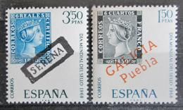 Poštovní známky Španìlsko 1968 Svìtový den známek Mi# 1756-57