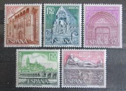 Poštovní známky Španìlsko 1968 Pamìtihodnosti Mi# 1765-69
