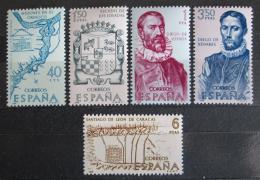 Poštovní známky Španìlsko 1968 Americká historie Mi# 1782-86