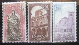 Poštovní známky Španìlsko 1968 Klášter St. Maria Mi# 1788-90