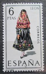 Poštovní známka Španìlsko 1969 Lidový kroj Leon Mi# 1795