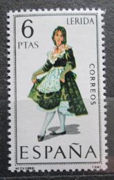 Poštovní známka Španìlsko 1969 Lidový kroj Lerida Mi# 1806