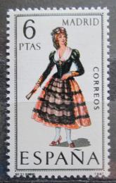 Poštovní známka Španìlsko 1969 Lidový kroj Madrid Mi# 1821