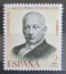 Poštovní známka Španìlsko 1970 Generál Miguel Primo de Rivera Mi# 1864