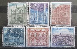 Poštovní známky Španìlsko 1970 Pamìtihodnosti Mi# 1872-77