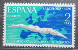 Poštovní známka Španìlsko 1970 ME v plavání Mi# 1880