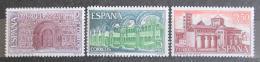 Poštovní známky Španìlsko 1970 Klášter Santa María de Ripoll Mi# 1898-1900