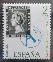 Poštovní známka Španìlsko 1971 Svìtový den známek Mi# 1928