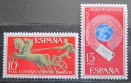 Poštovní známky Španìlsko 1971 Spìšné Mi# 1936-37