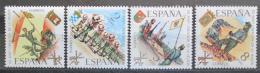 Poštovní známky Španìlsko 1971 Španìlské legie, 50. výroèí Mi# 1938-41