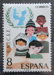 Poštovní známka Španìlsko 1971 UNICEF, 25. výroèí Mi# 1949