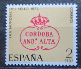 Poštovní známka Španìlsko 1972 Svìtový den známek Mi# 1987