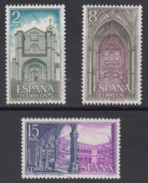 Poštovní známky Španìlsko 1972 Klášter Santo Tomás Mi# 2006-08
